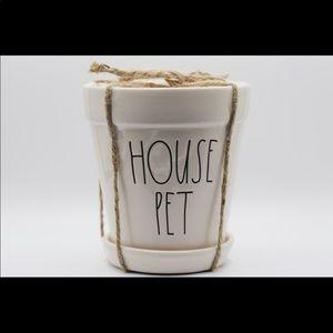 Rae Dunn House Pet Planter